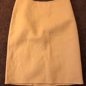 Talbots Tan Wool Skirt Size 8